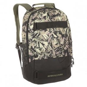 Рюкзак спортивный Dc Grind Watercolor Camo, 1152280,  DC Shoes, цвет зеленый, черный