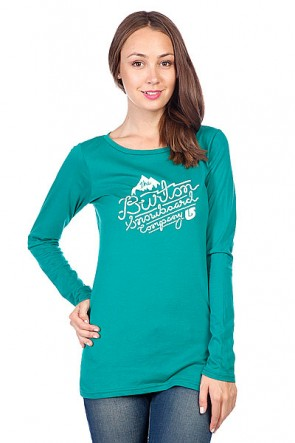Лонгслив женский Burton Wmn Winchester Ls Ultramarine, 1092391,  Burton, цвет зеленый