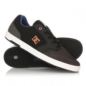 Кеды кроссовки низкие DC Argosy Grey/Black/Blue, 1156689,  DC Shoes, цвет серый, черный