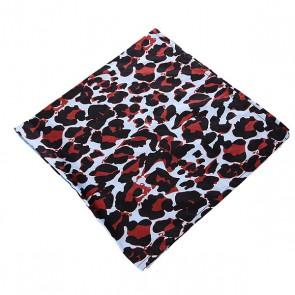 Платок Fred Perry Panther Scarf Leo, 1127984,  Fred Perry, цвет голубой, красный, черный