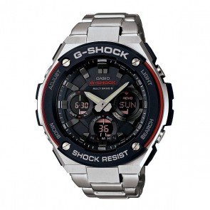 Часы женские Casio G-Shock Gst-w100d-1a4 Grey, 1128040,  Casio G-Shock, цвет серый