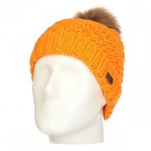 Шапка женская Roxy Blizzard Blazing Yellow, 1158282,  Roxy, цвет оранжевый