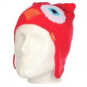 Шапка ушанка детская Roxy Owl Teeni Paradise Pink, 1158300,  Roxy, цвет мультиколор, розовый