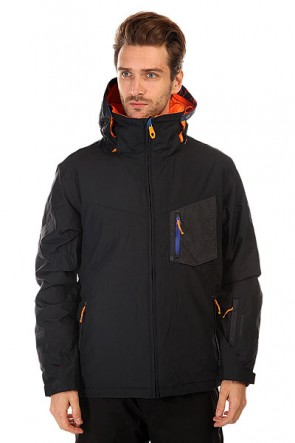 Куртка Quiksilver Mission Plus Black, 1131087,  Quiksilver, цвет черный