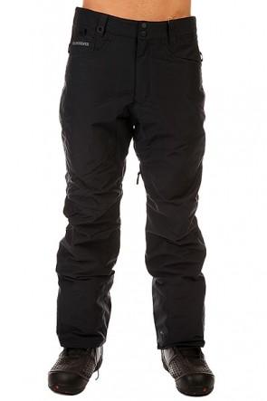 Штаны сноубордические Quiksilver State Pant Black, 1131119,  Quiksilver, цвет черный