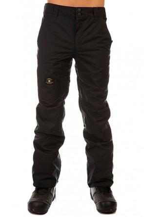 Штаны сноубордические DC Dealer Pt Anthracite, 1131136,  DC Shoes, цвет черный