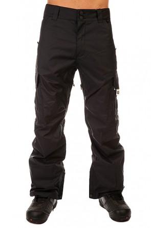Штаны сноубордические DC Banshee Pt Anthracite, 1131138,  DC Shoes, цвет черный