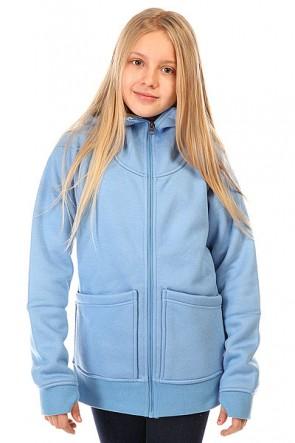Толстовка сноубордическая детская Burton Journey Flc Provence Heather, 1137211,  Burton, цвет голубой
