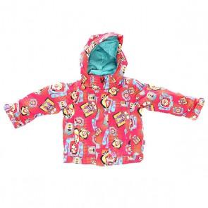 Куртка зимняя детская Burton Ms Elodie Jk Ms Grls Pixar Print, 1137231,  Burton, цвет мультиколор
