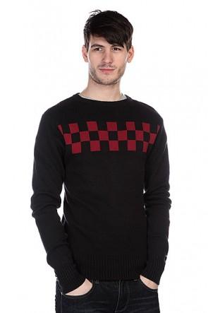 Свитер Independent Speed Crew Black/Oxblood, 1109973,  Independent, цвет черный