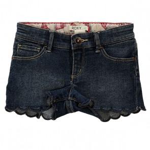 Шорты джинсовые детские Roxy Into K Dnst Dark Blue, 1142499,  Roxy, цвет синий