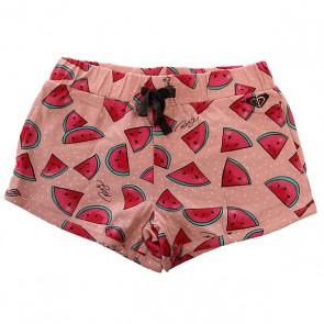 Шорты классические детские Roxy Sunshine K Ndst Watermelon Print Com, 1142501,  Roxy, цвет розовый