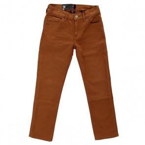 Джинсы узкие детские DC Col Slim Jn You B Pant Wheat, 1142512,  DC Shoes, цвет коричневый