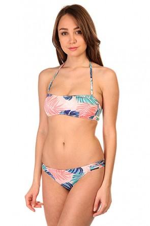 Купальник женский Roxy Bandeau Beach Palm Combo Ros, 1145365,  Roxy, цвет мультиколор, розовый