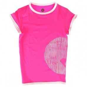 Гидрофутболка детская Roxy Sunset Paradise Pink, 1145387,  Roxy, цвет розовый