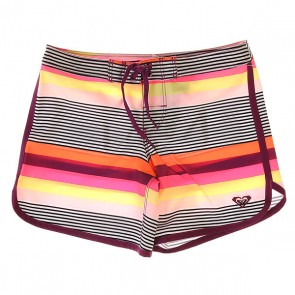 Шорты пляжные детские Roxy Little Desert Swing Stripes Combo, 1145408,  Roxy, цвет мультиколор