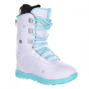 Ботинки для сноуборда женские DC Karma White/Green, 1134230,  DC Shoes, цвет белый, голубой