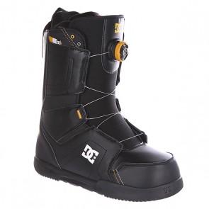 Ботинки для сноуборда DC Scout Black, 1134233,  DC Shoes, цвет черный