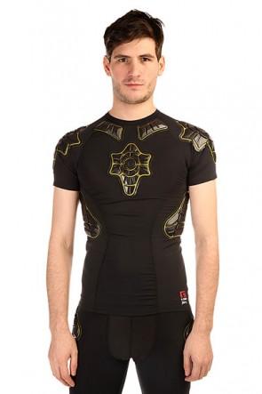 Защита G-Form Pro-x Compression Shirt Black/Yellow, 1137308,  G-Form, цвет желтый, черный