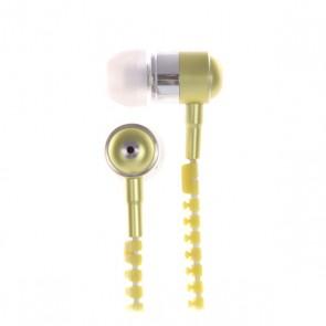 Наушники с микрофоном Look Desire White/Yellow, 1137475,  Look, цвет белый, желтый