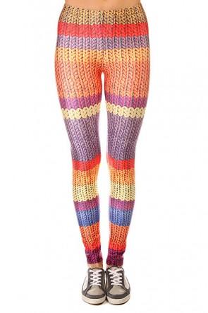 Леггинсы женские Look Wool Multi, 1137557,  Look, цвет мультиколор