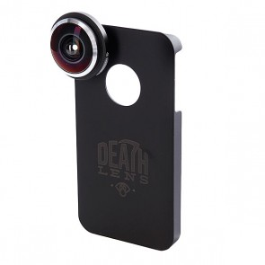 Чехол для Iphone Death Lens Fisheye Lens Dk. Blue Box 4/4s, 1092465,  Death Lens, цвет черный