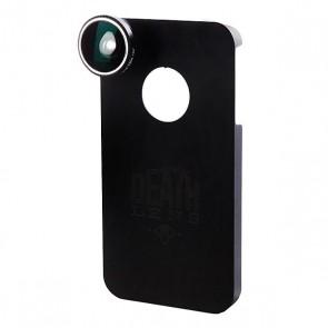 Чехол для Iphone Death Lens Wide Angle Lens Lt. Blue Box 4/4s, 1092468,  Death Lens, цвет черный