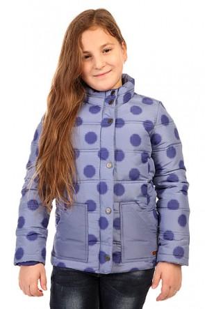 Куртка детская Roxy Snow Day G Jacket Ikat Polka Dot, 1134399,  Roxy, цвет синий