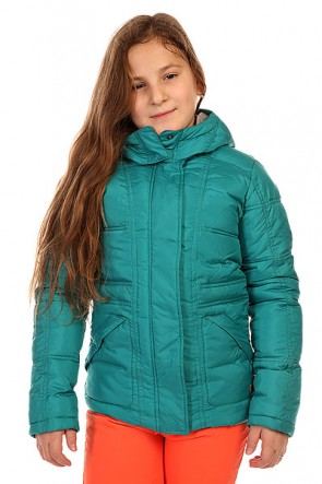 Куртка зимняя детская Roxy Free Style G Jacket Fanfare, 1134403,  Roxy, цвет голубой