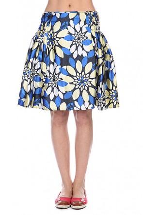 Юбка женская Animal Leo Skirt Ink Navy, 1112675,  Animal, цвет желтый, синий