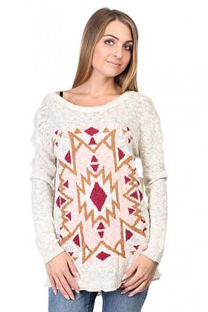 Джемпер женский Billabong Salama White Cap, 1112752,  Billabong, цвет белый