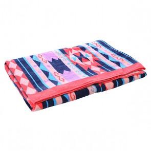 Полотенце женское Billabong Santiago X Large Midnight, 1112809,  Billabong, цвет голубой, оранжевый, розовый, синий