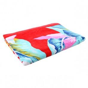 Полотенце женское Billabong Catarina X Large Rio Red, 1112819,  Billabong, цвет голубой, красный, розовый