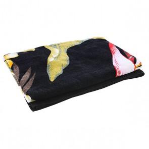Полотенце женское Billabong Catarina X Large Off Black, 1112820,  Billabong, цвет зеленый, черный