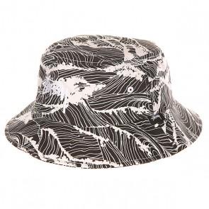 Панама женская Stussy Waves Bucket Hat Black, 1147615,  Stussy, цвет белый, черный
