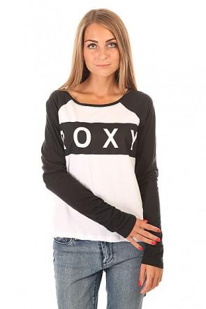 Лонгслив женский Roxy Love J Tees True Black, 1154867,  Roxy, цвет белый, черный