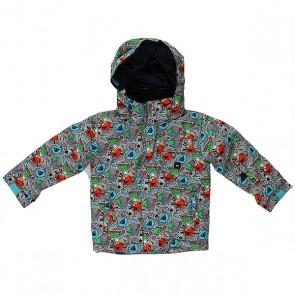Куртка детская Quiksilver Mission Color Navy Blazer, 1156914,  Quiksilver, цвет оранжевый, синий
