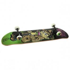 Скейтборд в сборе Nomad Watergun Mob Green 31.75 x 8 (20.3 см), 1156966,  Nomad, цвет мультиколор