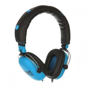 Наушники с микрофоном Nomad Skateboards Black/Blue, 1156976,  Nomad, цвет голубой, черный