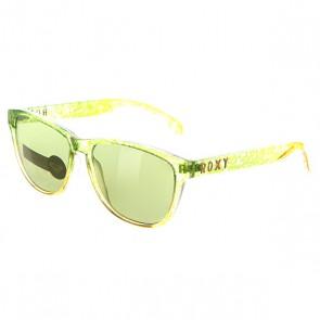 очки женские Roxy Uma Green/Flash Green, 1139507,  Roxy, цвет желтый, зеленый
