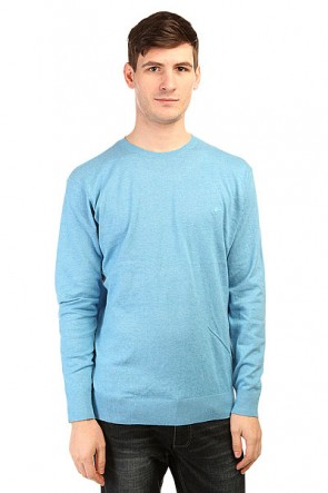Джемпер Quiksilver Kelvin Crew Swtr Niagara, 1139614,  Quiksilver, цвет голубой