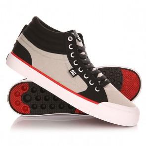 Кеды кроссовки высокие DC Evan Smith Hi Shoe Black/Grey, 1142862,  DC Shoes, цвет серый, черный