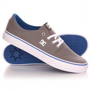 Кеды кроссовки низкие DC Trase Tx Shoe Grey/Blue, 1142865,  DC Shoes, цвет серый, синий