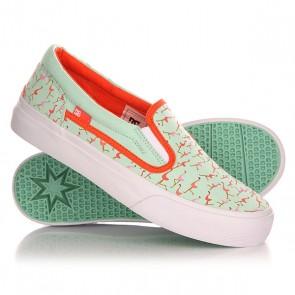 Слипоны детские DC Trase Slip-On S G Shoe Misty Blue, 1142872,  DC Shoes, цвет голубой