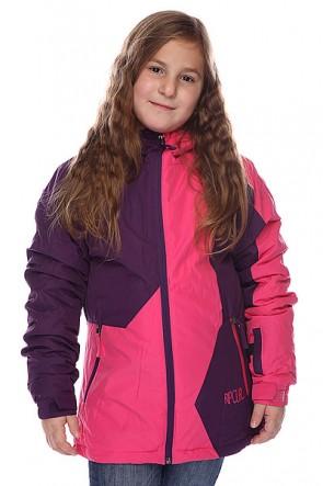Куртка детская Rip Curl Contorsia Jr Jacket Fuschia Rose, 1099385,  Rip Curl, цвет розовый, фиолетовый