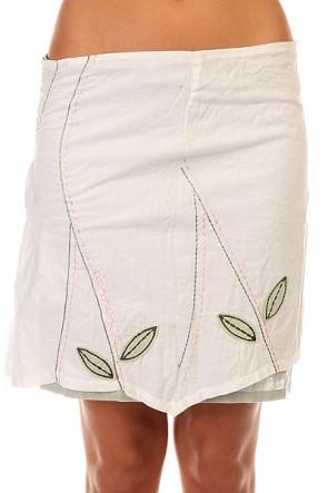 Юбка женская Element Skirt Candy, 1131396,  Element, цвет белый, зеленый