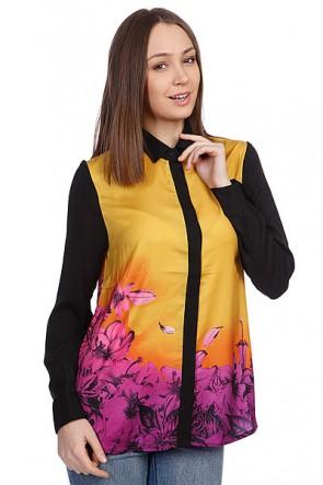 Рубашка женская Insight Afterglow Shirt Saffron, 1076833,  Insight, цвет желтый, черный