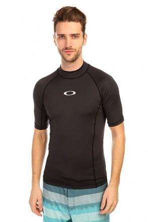 Гидрофутболка Oakley Pressure Rashguard Jet Black, 1134721,  Oakley, цвет черный