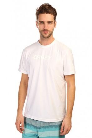 Гидрофутболка Oakley O Pique Rashguard White, 1134725,  Oakley, цвет белый