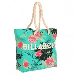 Сумка женская Billabong Essential Bag Floral, 1145886,  Billabong, цвет голубой, мультиколор